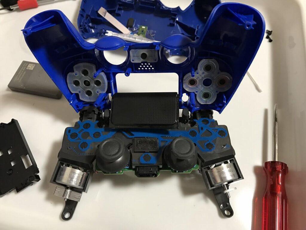 PS4コントローラー アナログスティック