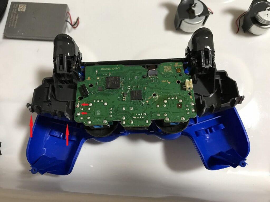 PS4コントローラー 振動モーター除去