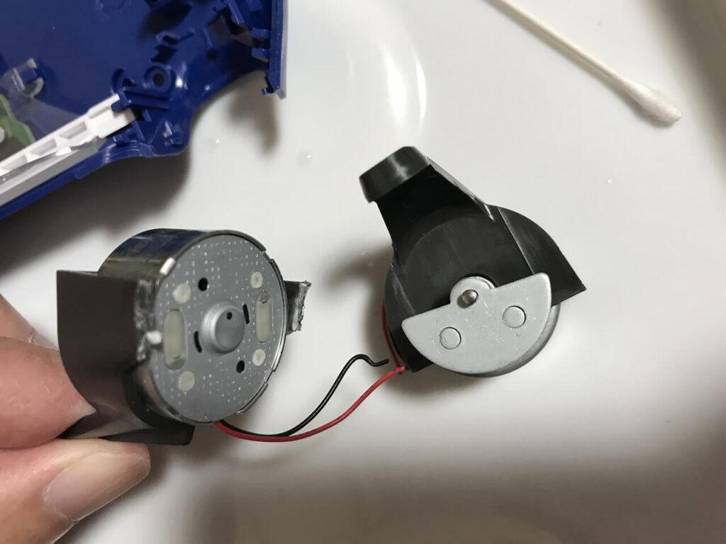 除去後の振動モーター