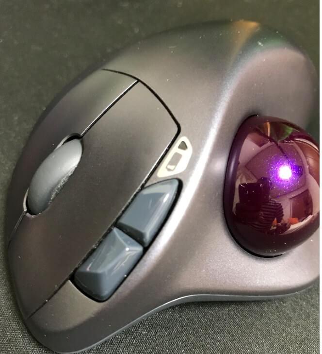 ロジクールM570、M575S 戻るボタン