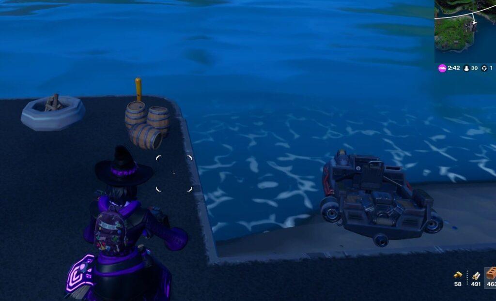 唯一のボート