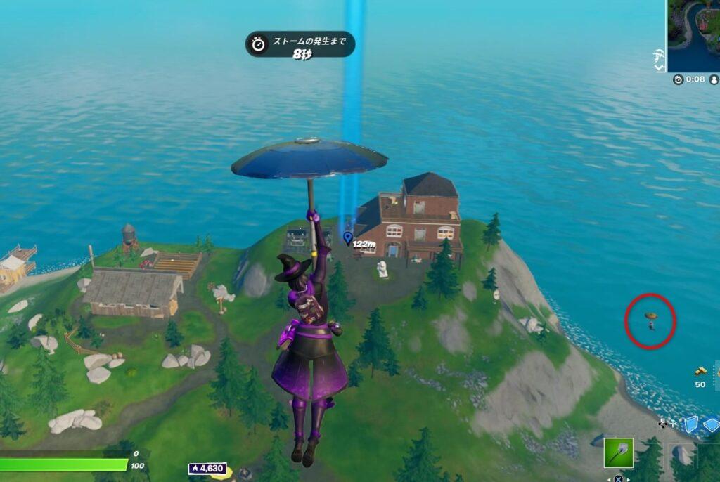 空から敵の確認