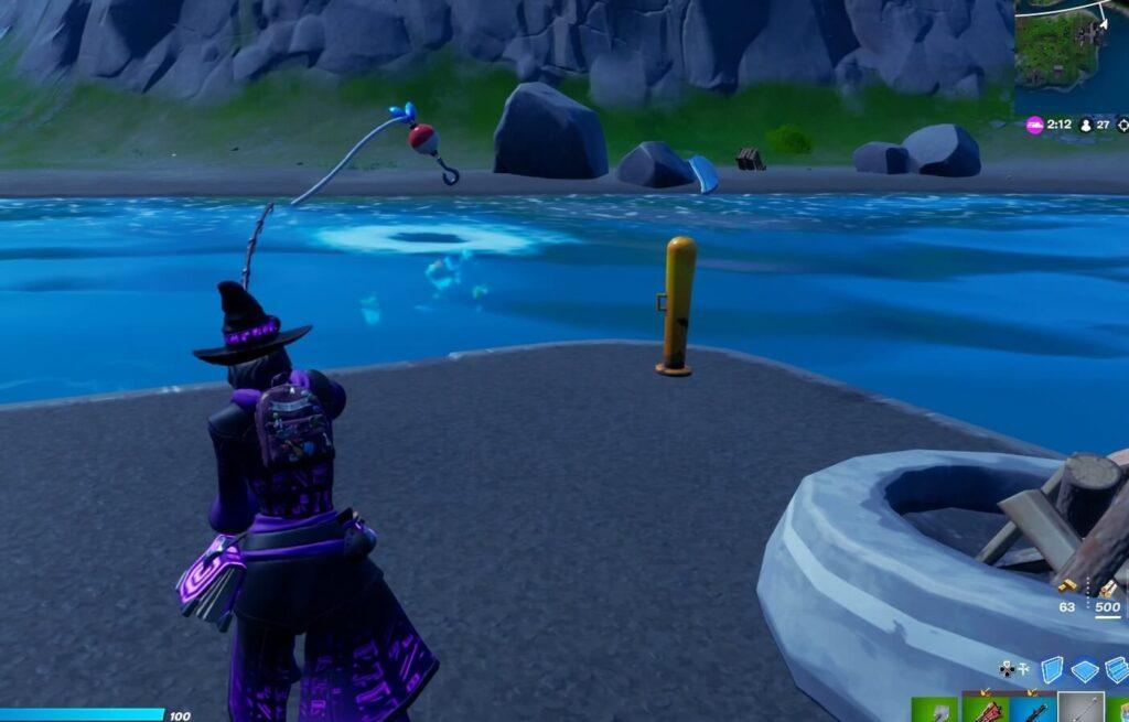 ボート周辺釣りスポット